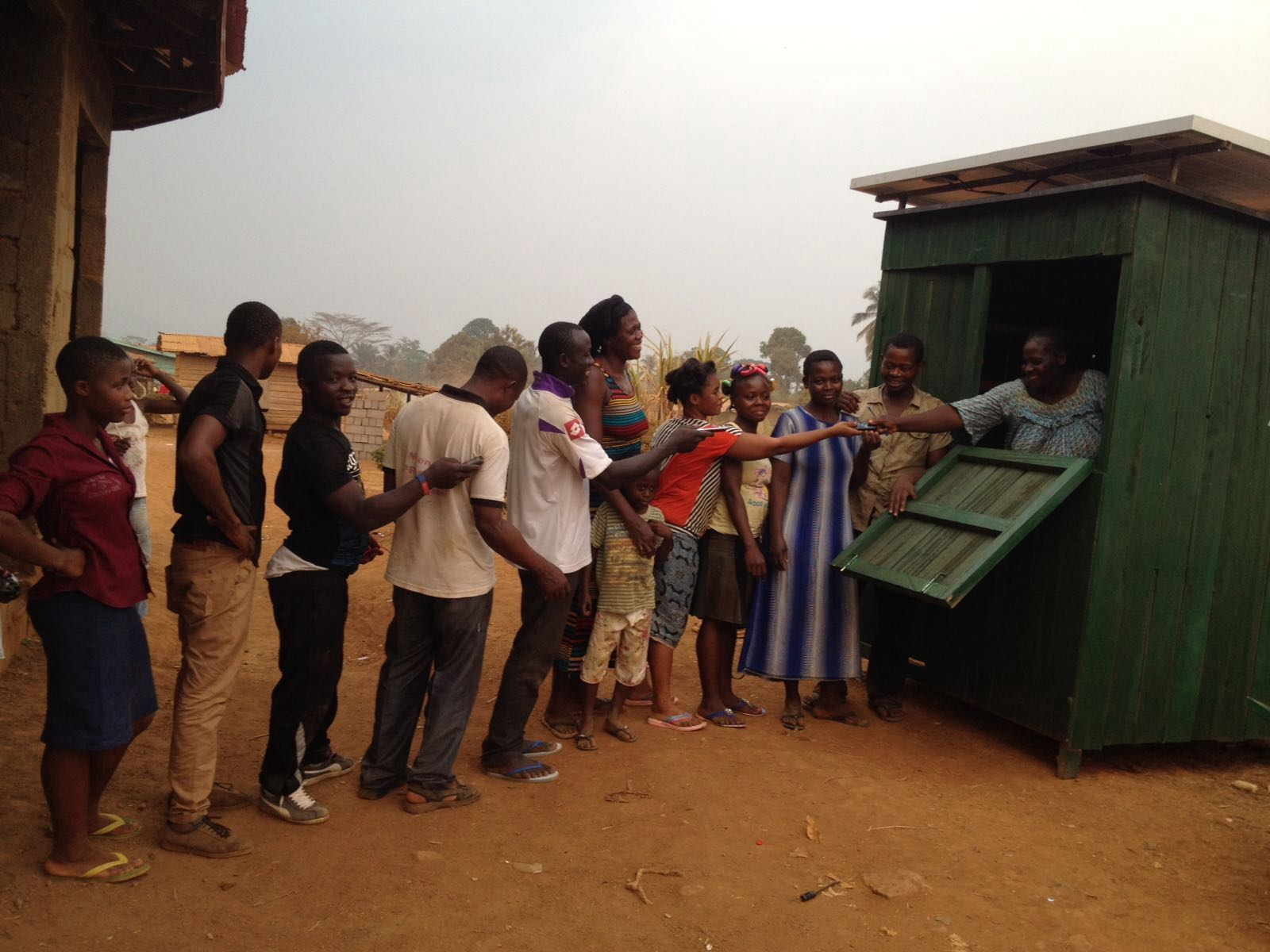 Field visits to Renewable Energy construction sites by AOP and its partners
